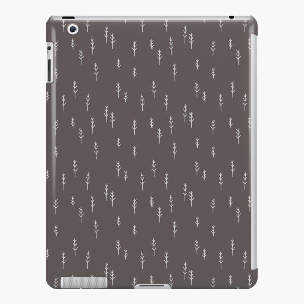 Into the Wild - Forest, Black Background iPad Snap Case