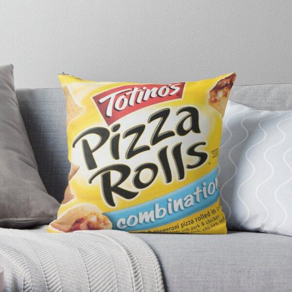 pizza rolls Throw Pillow