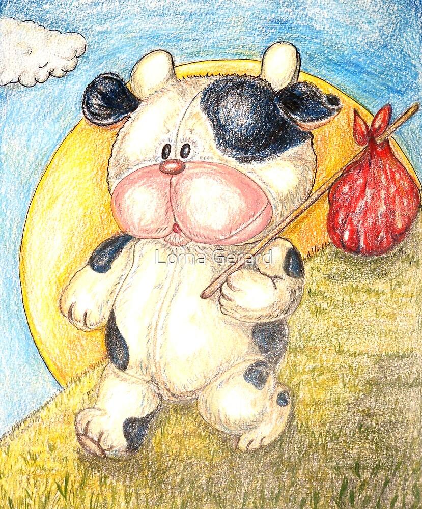 Moo Moo Cow Will Travel... by Lorna Gerard