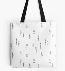 Into the Wild - Forest, White Background Tote Bag