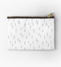 Into the Wild - Forest, White Background Studio Pouch