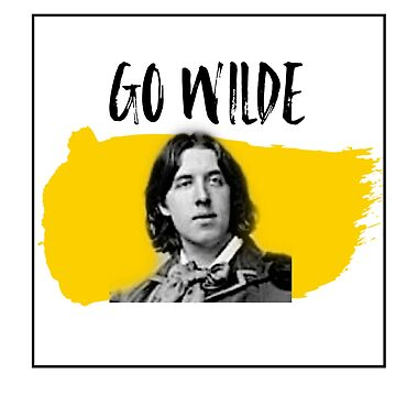 Go Wilde! Oscar Wilde Aesthetic Design  by claireheil014