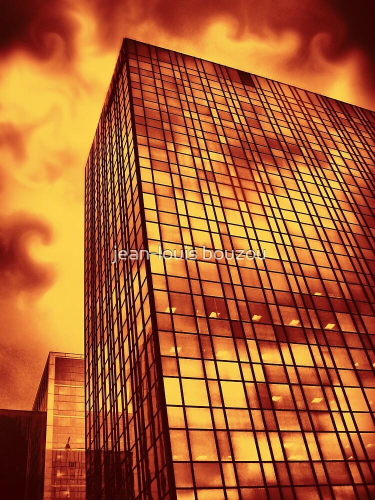 Building On Fire by jean-louis bouzou