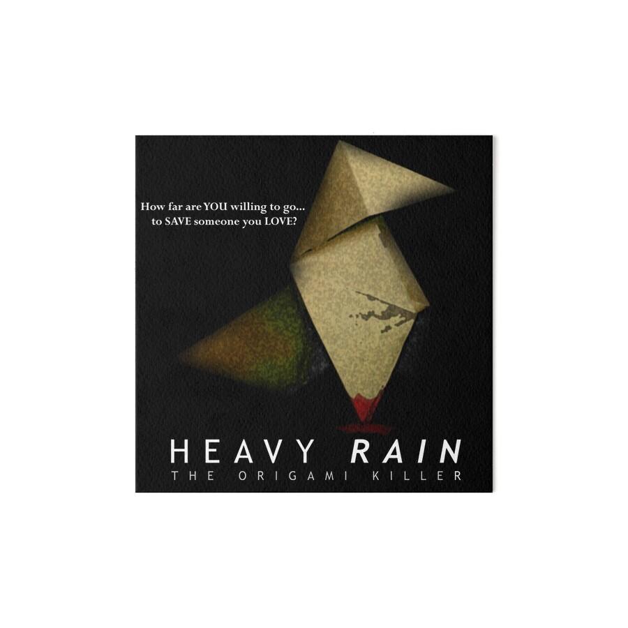 Heavy rain the origami killer art boards by dorchette redbubble heavy rain the origami killer by dorchette jeuxipadfo Image collections