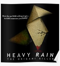 Heavy Rain - The Origami Killer Poster