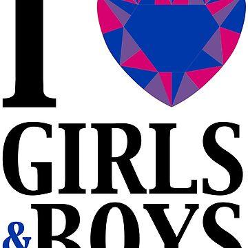 I Love Boys & Girls by NHTheHub