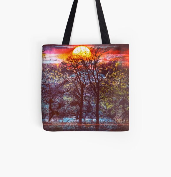 Lost in a Femtosecond All Over Print Tote Bag