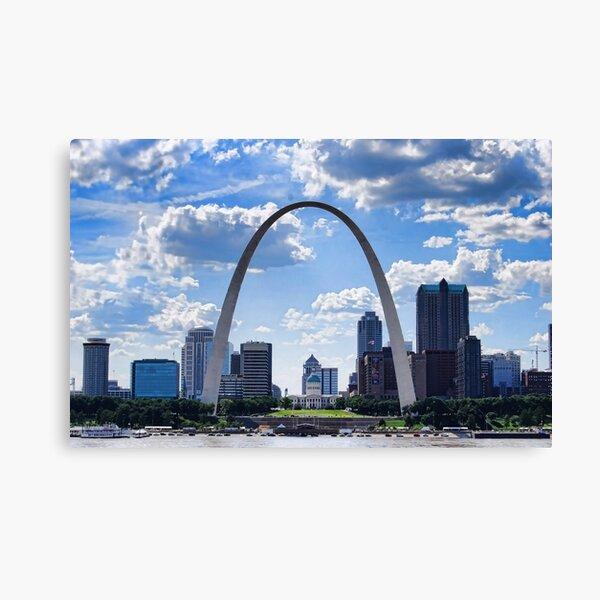St Louis City Skyline. Canvas Print