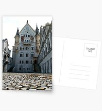 Neuschwanstein courtyard Postcards