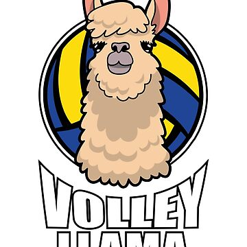 Volley LLama Volleyball by ColeLaniTrading
