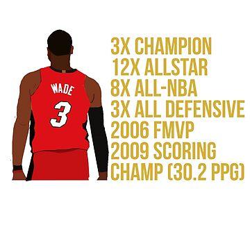 Dwyane Wade - Miami Heat by xavierjfong