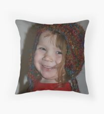Happy Elsie Throw Pillow