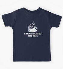 Ryan Started the Fire Kids Tee