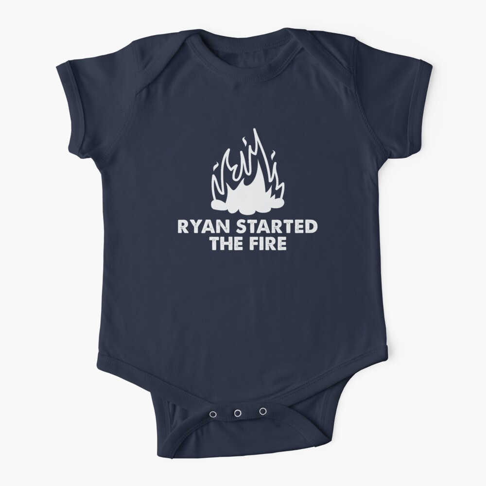 Ryan Started the Fire Baby One-Piece