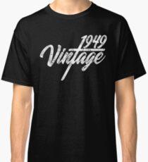 Vintage Retro 1949 Birthday Classic T-Shirt