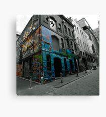 Graffiti Lane Melbourne  Canvas Print