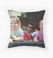 Elsie and Iris Throw Pillow