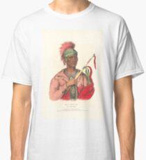 Camiseta clásica Neomone (NE.O.MON.E) Un jefe de Ioway en 1838