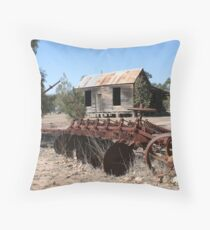 Rustic Accomodation Throw Pillow
