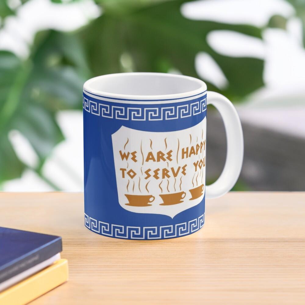 NYC Greek Anthora Coffee Cup Design Mug