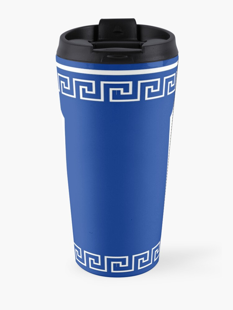 Alternate view of NYC Greek Anthora Coffee Cup Design Travel Mug