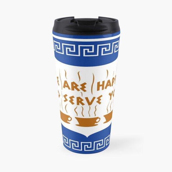 Conception de tasse à café d'anthora grecque de NYC Mug isotherme