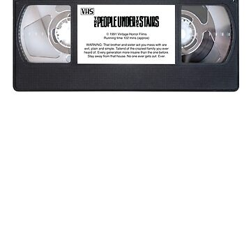 Vintage VHS: The People Under The Stairs by EstrangedShop