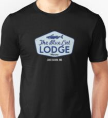 Camiseta ajustada Blue Cat Lodge en el lago Ozark