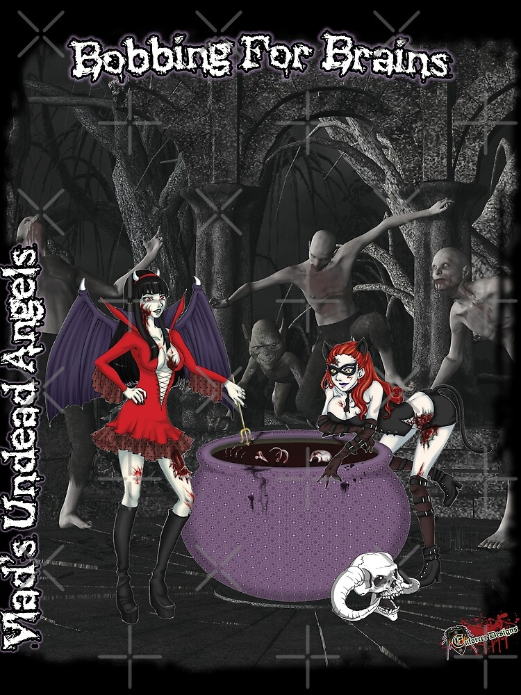 Undead Angels: Bobbing For Brains by EnforcerDesigns