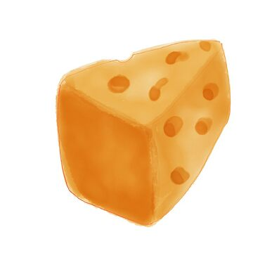 Cheese cheesy cheese lovers - Watercolor Cheese by mcb-jp