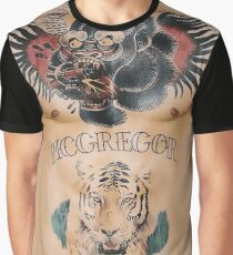 Conor McGregor Tattoo Graphic T-Shirt