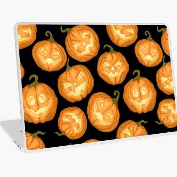 Halloween pumpkins Laptop Skin