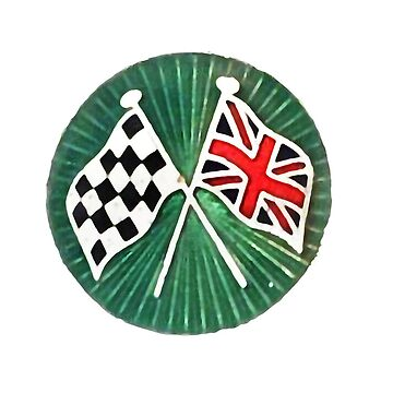 WINNER Checkered Flag and Union Jack Car,Truck,Motorcycle Race Winner by Glyn123