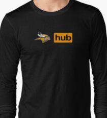 Minnesota Vikings Porn Hub Long Sleeve T-Shirt