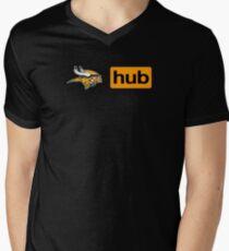 Minnesota Vikings Porn Hub Men's V-Neck T-Shirt