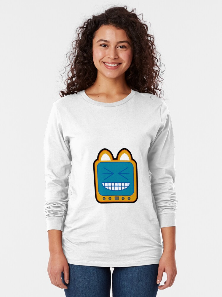Alternate view of Television Kitty LOL 2 Long Sleeve T-Shirt