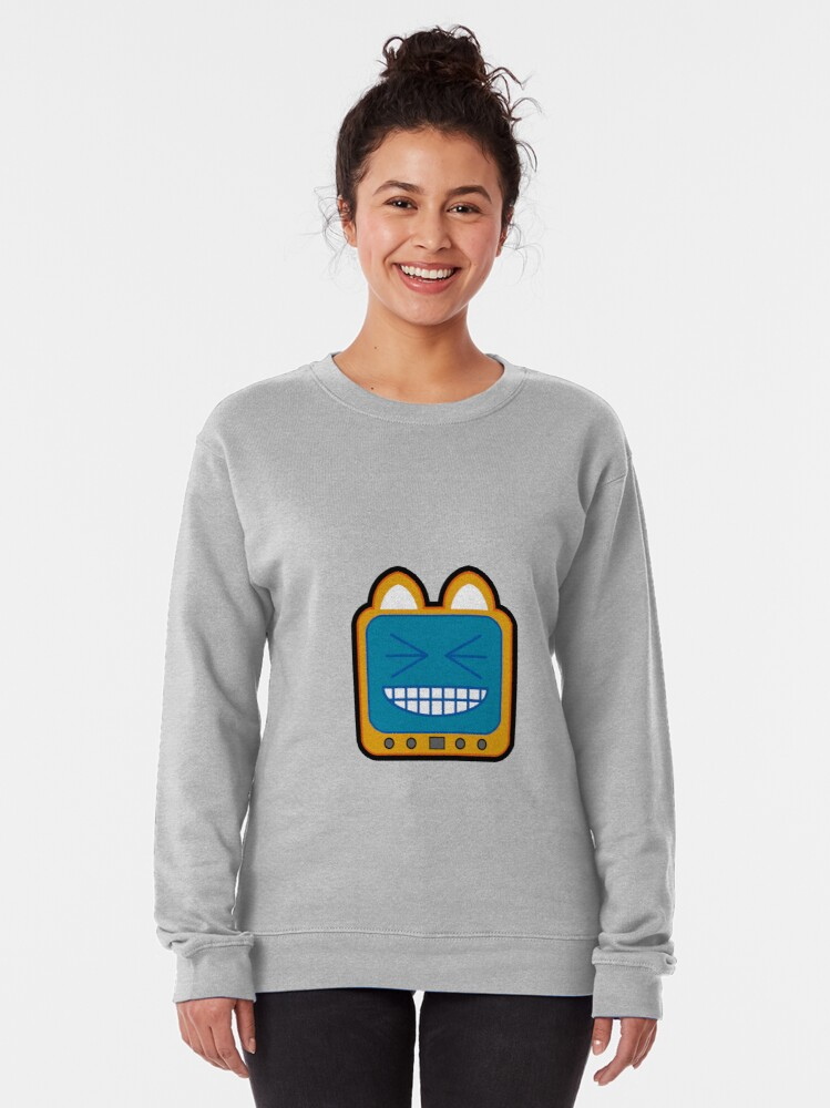 Alternate view of Television Kitty LOL 2 Pullover Sweatshirt