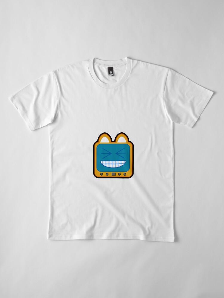 Alternate view of Television Kitty LOL 2 Premium T-Shirt