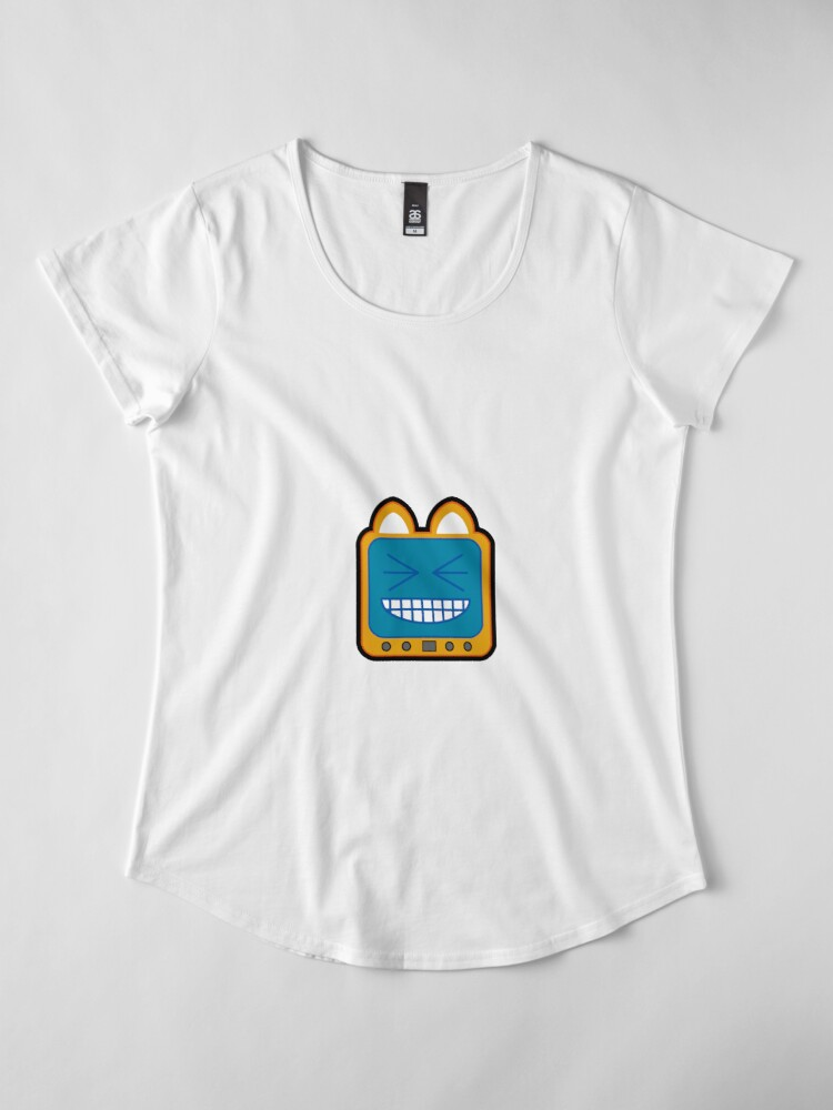Alternate view of Television Kitty LOL 2 Premium Scoop T-Shirt