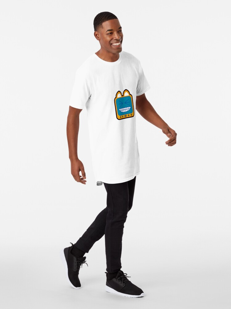 Alternate view of Television Kitty LOL 2 Long T-Shirt