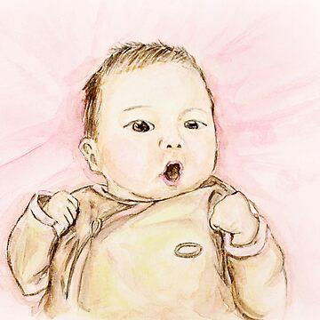 Baby Portrait by claudiaip