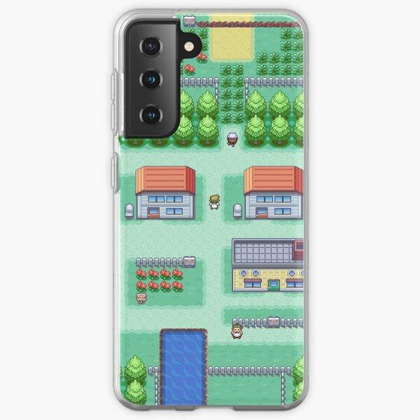 Rêves de la ville de palettes (feuille) Coque souple Samsung Galaxy