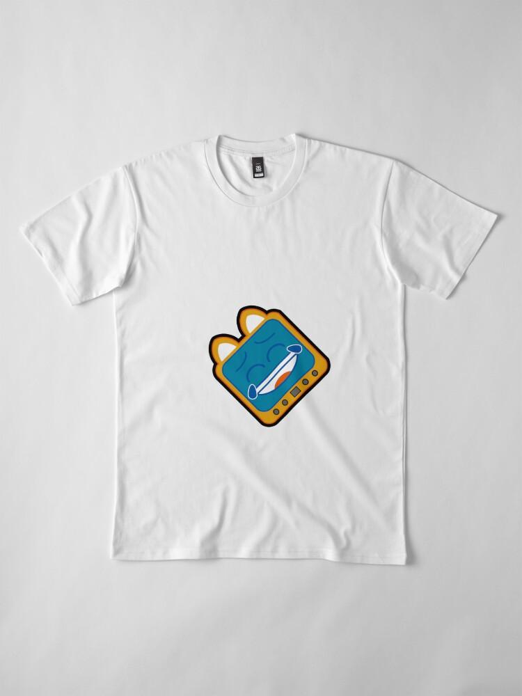 Alternate view of Television Kitty LOL7 Premium T-Shirt
