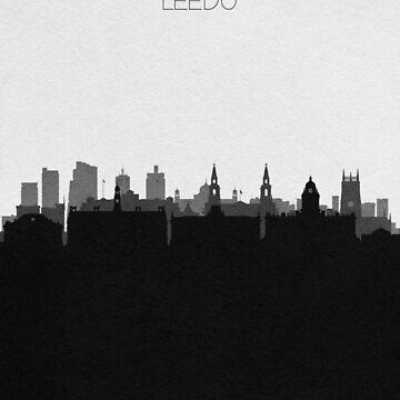 Carteles de viaje | Destino: Leeds de geekmywall