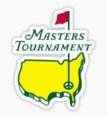 MASTERS GOLF TURNAMENT Sticker