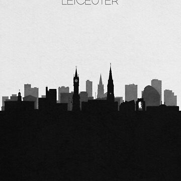 Carteles de viaje | Destino: Leicester de geekmywall