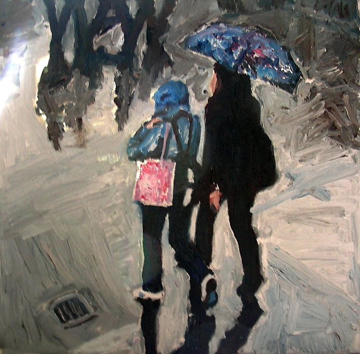 Trafalgar Square Part 3 by Rosanna Jeffery