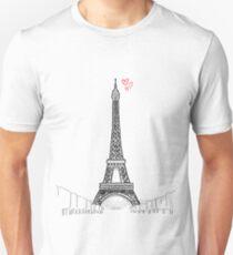 Tour Eiffel Unisex T-Shirt