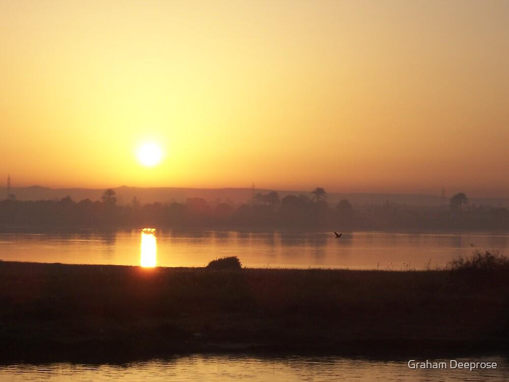 Nile Sunrise by Graham Deeprose