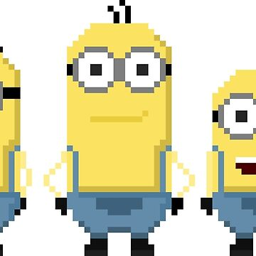 Despicable Yellow Guys by brick86